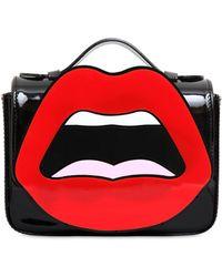 Yazbukey - C'est Ahh... Patent Leather Shoulder Bag - Lyst