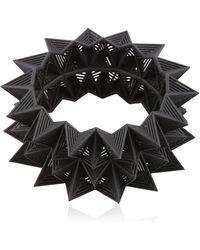 Vojd Studios - Diamond Shaped Bangle Bracelet - Lyst