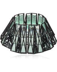 Vojd Studios - 3d Printed Cage Cuff - Lyst