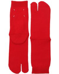 Maison Margiela - Tabi Wool Knit Socks - Lyst