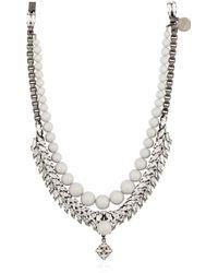 Ellen Conde - Swarovski Pendant Necklace - Lyst