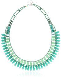 Ziio - Mistinguett Beaded Necklace - Lyst