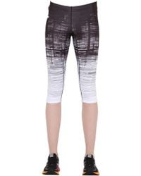 Peak Performance - Lavvu Printed Capri Running Tights - Lyst