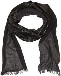 Cutuli Cult - Patchwork Leather & Silk Scarf - Lyst