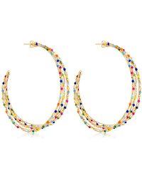 Rosantica - Velo Earrings - Lyst