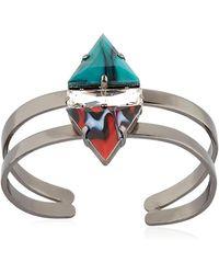 Anton Heunis - Art Deco Expression Cuff Bracelet - Lyst