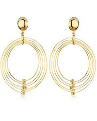 La Perla - Ebony Earrings - Lyst