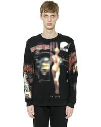 Givenchy - Cuban Heavy Metal Cotton Sweatshirt - Lyst