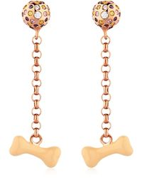 Vernissage Jewellery - Bone Earrings - Lyst