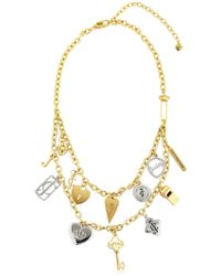 Juicy Couture - Juicy Charms Chain Necklace - Lyst
