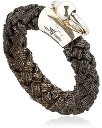 Betony Vernon - Noble Rope Ring For Lvr - Lyst
