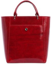 Elizabeth and James - Small Eloise Patent Leather Tote Bag - Lyst