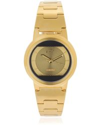 FOB PARIS - Limited Edition Red Solar Gold Watch - Lyst