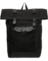 KTZ - Backpack W/ Mesh & Leather Details - Lyst