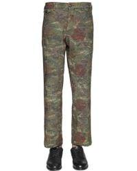 Gabriele Pasini - 22cm Techno Blend Tapestry Gobelin Pants - Lyst