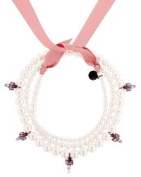 Ellen Conde - Brilliant Jewellery Pearl Necklace - Lyst