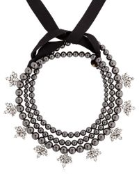 Ellen Conde - Brilliant Jewelry Black Pearl Necklace - Lyst