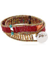 Ziio - Boa Wrap Around Bracelet - Lyst
