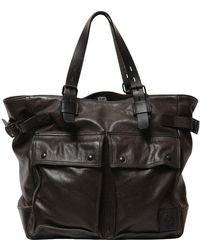 Belstaff - Pinner Leather Tote Bag - Lyst