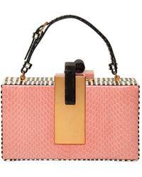 Tonya Hawkes - Cadillac Elaphe Clutch Bag - Lyst