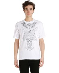 Mauna Kea | Totem Embroidered Cotton Jersey T-shirt | Lyst