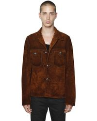 HTC Hollywood Trading Company - Suede Western Style Jacket - Lyst
