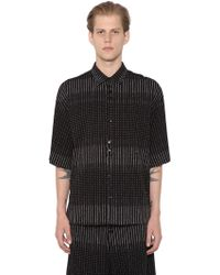 Damir Doma - Sol 3d Printed Cotton Shirt - Lyst