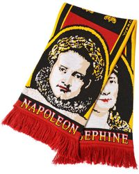Y. Project - Napoleon & Josephine Jacquard Knit Scarf - Lyst