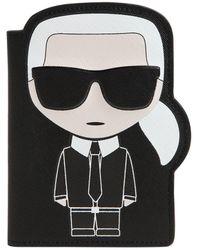 Karl Lagerfeld - K/ikonic Karl Passport Holder - Lyst