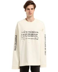 PUMA - Oversize Printed T-shirt - Lyst