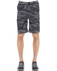 Columbia - Silver Ridge Camo Printed Cargo Shorts - Lyst