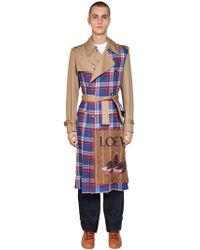 Loewe - Trench Patchwork - Lyst