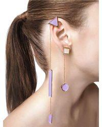 Sylvio Giardina - Collezione Three (3) Shape Earrings - Lyst