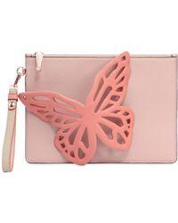 Sophia Webster | Flossy Butterfly Leather Clutch | Lyst