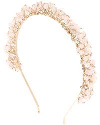 Rosantica - Bouquet Stones Headband - Lyst