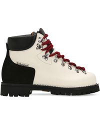 Proenza Schouler - 30mm Two Tone Leather Hiking Boots - Lyst