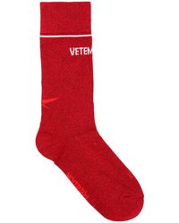 Vetements - Reebok Lurex Short Socks - Lyst