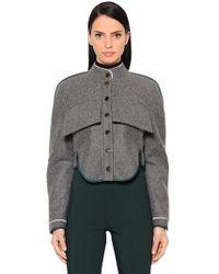 Antonio Berardi - Short Wool & Cashmere Jacket - Lyst