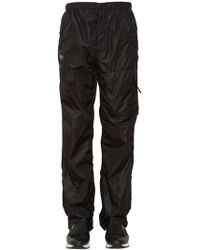 Givenchy - Nylon Track Pants With Logo Patch - Lyst