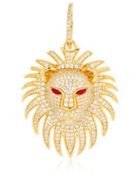Apm Monaco - Lion Statement Asymmetric Earrings - Lyst