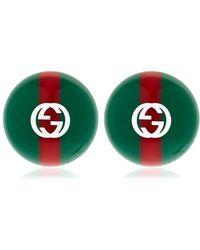 Web earrings - Red Gucci ndc2B0dXkA