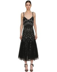 Temperley London - Sequined Georgette Dress - Lyst