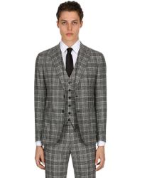 Tagliatore - Unlined Wool Prince Of Wales Suit - Lyst