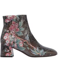 Agl Attilio Giusti Leombruni - 50mm Printed Embossed Leather Boots - Lyst