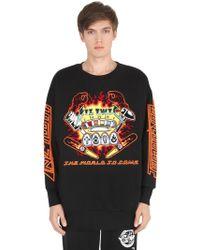 KTZ - Pinball Patched Cotton Sweatshirt - Lyst