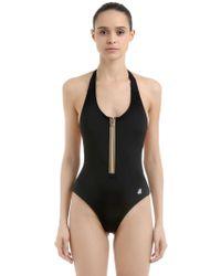 K-Way - Sylvie One Piece Swimsuit W/ Zip - Lyst