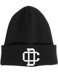 DSquared² - Wool Beanie Hat W/ Embroidery - Lyst