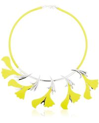 EK Thongprasert - Silicone Flower Necklace - Lyst