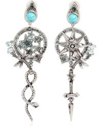Roberto Cavalli | Sun & Stars Clip-on Earrings | Lyst