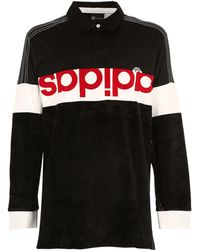Alexander Wang - Camiseta Polo Oversize De Jersey Y Chinilla - Lyst